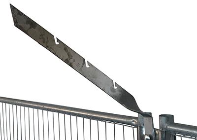 10009.2 – barbed wire holder 45°