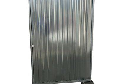10033 – Mobilzaun geschlossen Tor