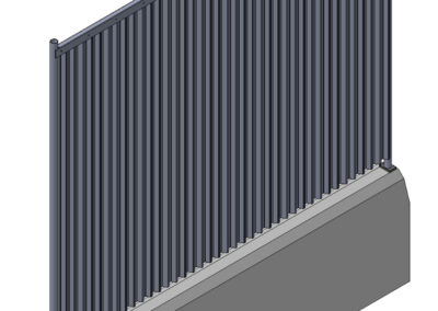 10005.5 – Betonleitschwelle